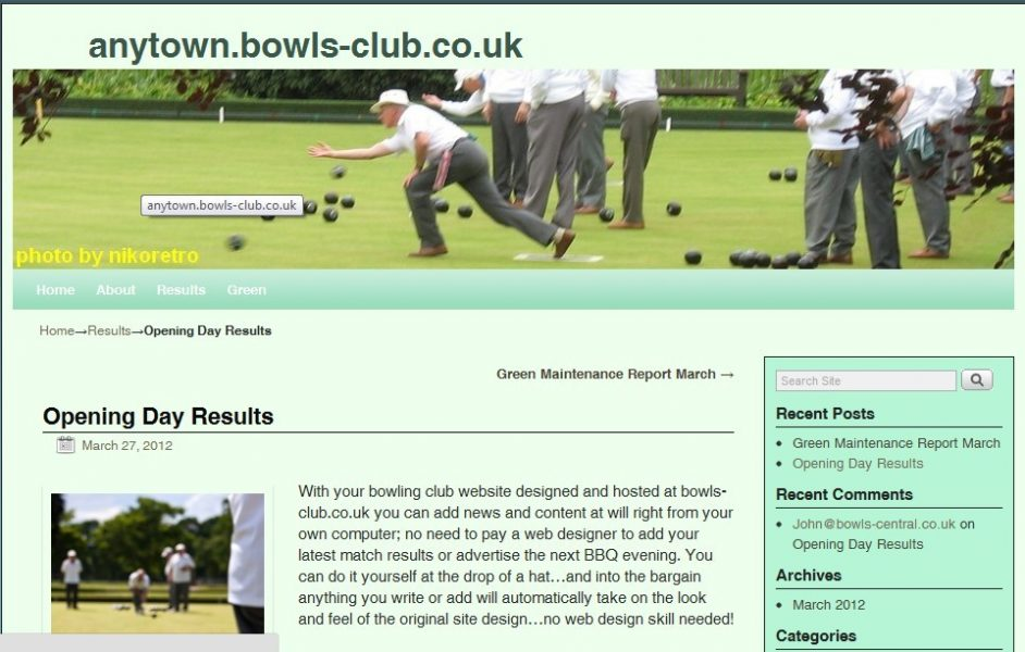 rasie funds with your club website