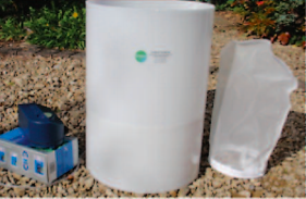 25litre bowing green compost tea brewer