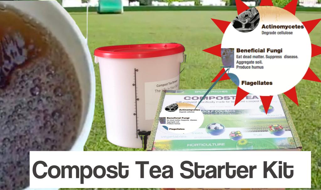 Compost tea starter kit