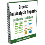 greens soil analysis