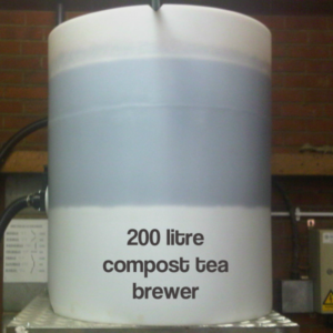 200 litre compost tea brewer