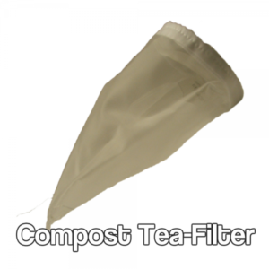Compost tea filter