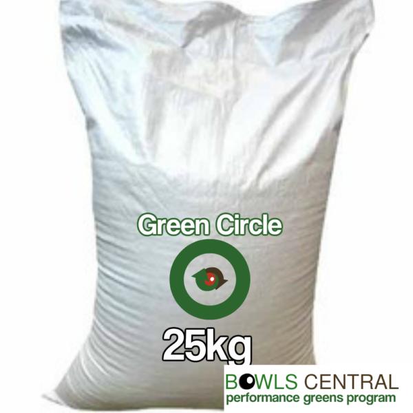 Green circle 25kg