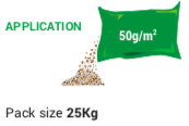 Thatch Eater 3 bags per green