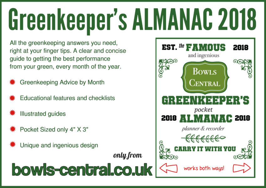 Greenkeeper's Almanac 2018