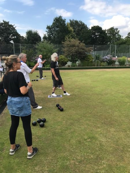 Bowling at Windlesham