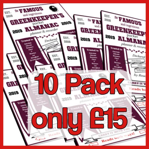 10 pack almanac