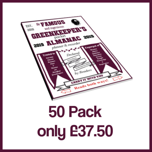 50pack greenkeepers almanac 2019