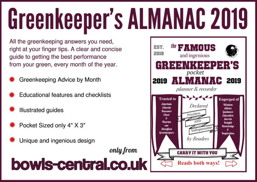 Greenkeeper's Almanac 2019