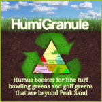 HumiGranule You can now add humus to bowling greens